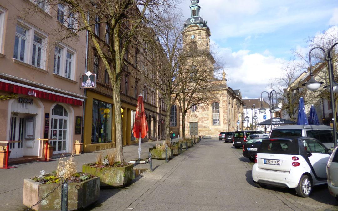 Ladenlokal in der Nähe des St. Johanner Marktes